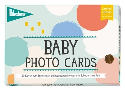 Baby Photo Cards Cotton Candy