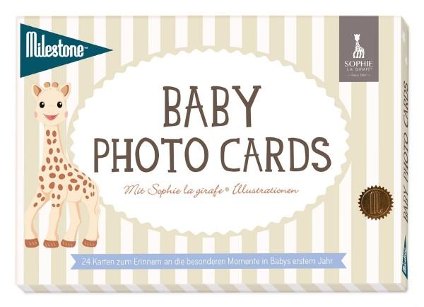 Baby Photo Cards Sophie la girafe