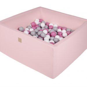 Bällebad eckig rosa